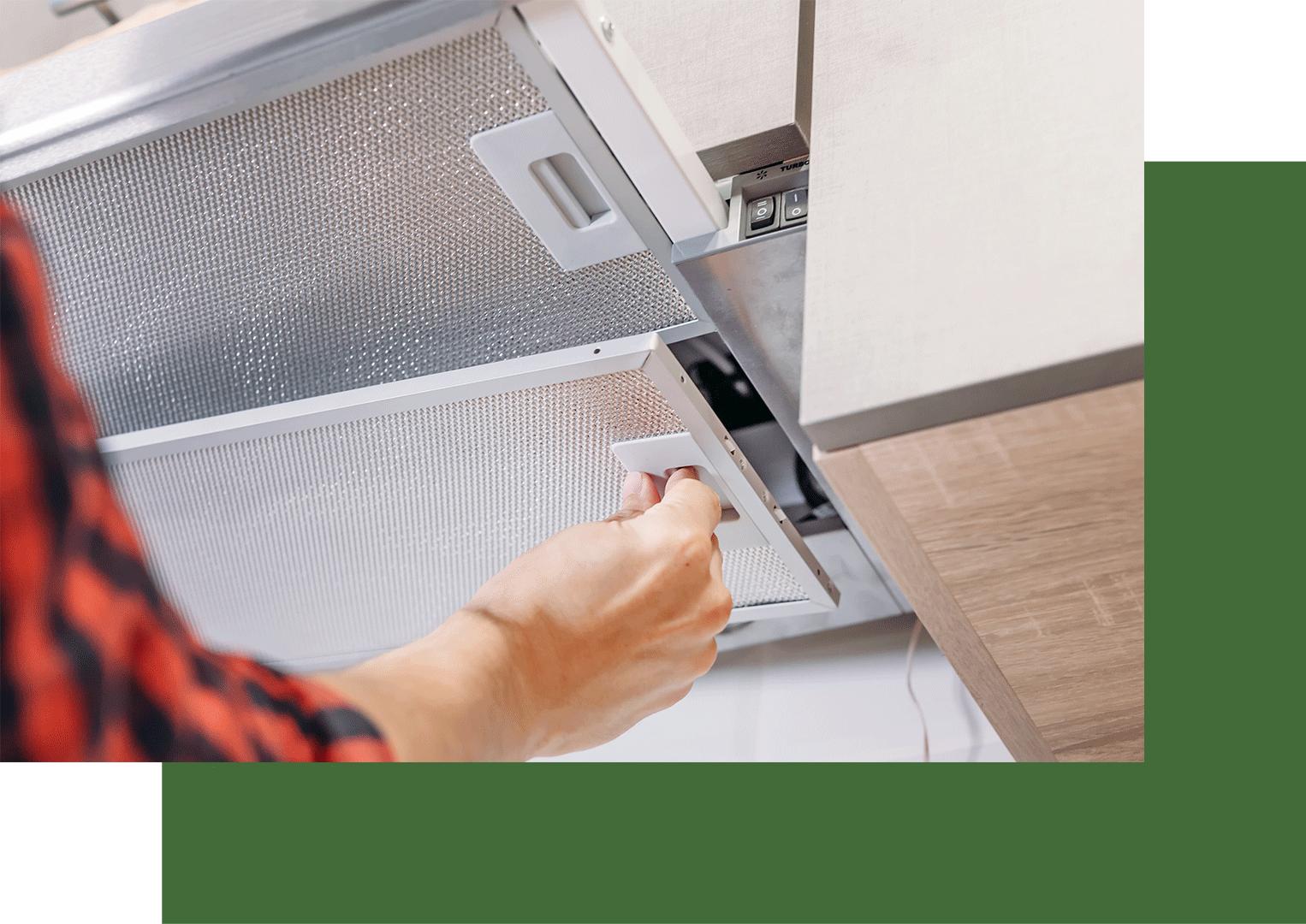 Limpieza de filtros para el extractor de cocina en Vigo