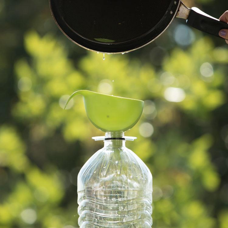 Recogida y reciclado de aceite de cocina usado en Coruña